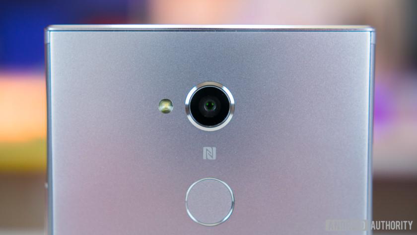 NFC logo on Sony device.
